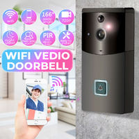 160° Wide-angle Wireless Smart WiFi Video DoorBell Camera Intercom Home Security
