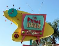 Review of 50's Prime Time Cafe at Disney's Hollywood Studios! #DisneyFood