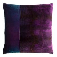 Shark Velvet Color Block Pillow by Kevin O'Brien Studio $390.00