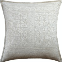 Montecito Beige Pillow by Ryan Studio $260.00