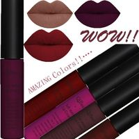 Sexy 34 Colors Waterproof Matte Long Lasting Liquid Lipstick Lip Glosses $11.99