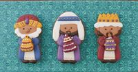 Three Wise Men Christmas Cookie Tutorial - Klickitat Street