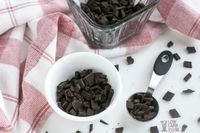 How to make low-carb sugar-free chocolate chips
