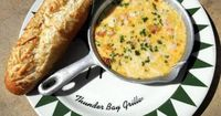 Thunder Bay Grille's Seafood Fondue