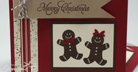 Stampin' Up! Christmas by Tabya Bell at Stamping T! - Scentsational Gingerbread Man Card