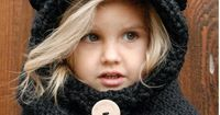 DIY Tutorial: Inspirations / Knitting PATTERNThe Burton Bear Cowl 6/9 month by Thevelvetacorn - Bead&Cord