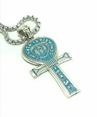 The ultimate Ankh pendent key of life, the key of the Nile the ancient Egyptian simple of life in the pharaoh's eras design by Sal Knight © < #jewelry #oneofkind #specialorder #customize #honest #integrity #diamond #gold #rings #weddingband #ann...