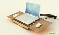 Openaire Laptop Case/Workstation Is Awesome