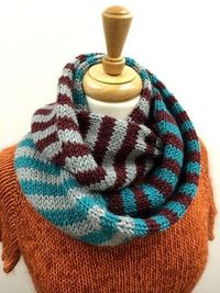 Ravelry: Tri-Color and You Will Succeed Cowl pattern by Chris Rieffer