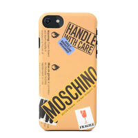 Moschino Cardboard Couture iPhone 6/6 Plus Case Brown
