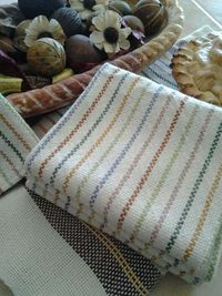 Rigid Heddle Cornucopia of Color Towels. Weave colorful fall colors to your heart's delight with our extra-absorbent, all-natural Aurora Earth 8/2 100% cotton. It's fun to play with color in the warp, producing a bounty of colored stripes....