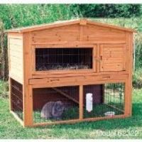 Rabbit Hutch, would work for a baby chick pen as well.