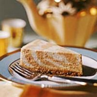 Save this one for the holidays! This recipe for Marbled Pumpkin Cheesecake is low calorie without losing any fabulous pumpkin flavor.