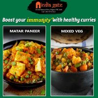 Matar Paneer - India Gate Belgrave  Boost your immunity with healthy veg. curries. �œ… Menu + Order: https://bit.ly/OrderIndiaGate �œ… Opening: 4:00 PM onwards