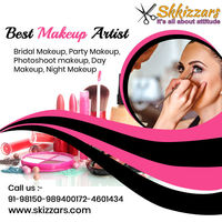 Skizzars provide Best Beauty Makeup Services in Mohali. Book an appointment for bridalmakeup, beautymakeup, daymakeup, nightmakeup etc. Your booking is just one call away: 9815098940 or visit: http://skizzars.com/ #BestBeautySalon #Beautypackages #BridalS...