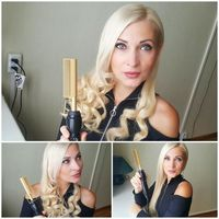 �Ÿ˜�450ºF High Heat Ceramic Hot Hair Comb Wet / Dry Use Straightener Iron Comb Electric Environmentally Friendly Gold Hairbrush�Ÿ˜� $31.95