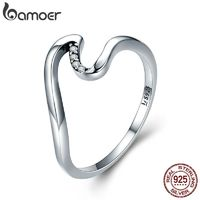 925 Sterling Silver Geometric Cubic Zirconia Wave Finger Ring $19.99.jpg