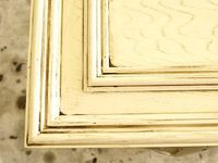 Antiquing and distressing outdated oak cabinets with primer, latex paint and gel stain