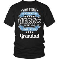 Grandad T-Shirt, Grandad Shirt, Grandad The Hero T-Shirt, Gift for Grandad, Grandad Gift, Gift for Dad, Gift for Grandfather, Fathers Day $20.99