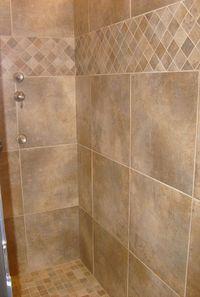 Tile Shower- tile pattern