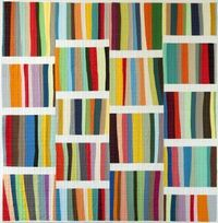 """A Different Stripe �€"""" coming soon!throw-sized quilt"""