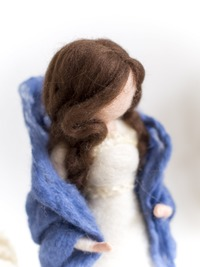 AMERS HANDICRAFT LLP MAKE ALL TYPE OF WOOL AND FELT TOYS, SUCH AS Mother Earth With Seed Baby Felt 