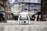 We take a close look at DJI's new Phantom 3 drone, which shoots 4K video and can stream video live to YouTube.