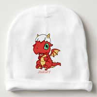 Personalized Baby Dragon Baby Beanie