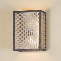 Geometric Wall Sconce (2 finishes!)