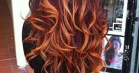 red ombre - love this!