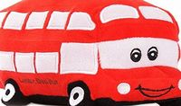 Frozen DNA Productions Ltd Harry the LONDON Red Bus soft toy | Super Soft