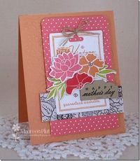 mothers day maureen plut i love these colors and her paper patterns!