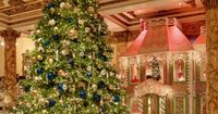 San Francisco's Fairmont Hotel Presents a Life-Size Gingerbread House - now that's decorating for Christmas!