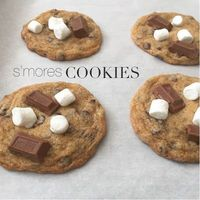 s'mores cookies. perfect for camping season