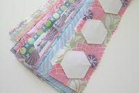 Excellent for Travel -- Jelly Roll hexies