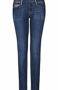 Mango Slim Line Stud Detail Jeans, Denim Add a defining edge to your jeans with these slim line jeans from Mango. (Barcode EAN=8432825497611) http://www.comparestoreprices.co.uk/womens-trousers/mango-slim-line-stud-detail-jeans-denim.asp
