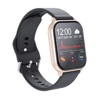 XANES® Y55 1.3in Color Touch Screen IP67 Waterproof Smart Watch Intelligent Reminder Call Rejection HR BP Monitor Sports Fitness Bracelet