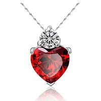 Women's Heart Of Design Of Necklace $4.82