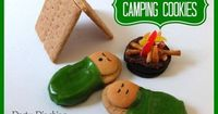 #Camping Nutter Butter #cookies -- Such a #cute #food #idea before a camping trip!