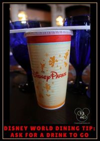 Here is a Disney World Dining Tip
