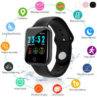 Bakeey IP67 Heart Rate Blood Oxygen Monitor Weather Display Message Reminder Multiple Watch Face Smart Watch