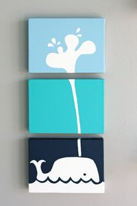 Whale! So cute and great for the under the sea themed nursery! That's theme we are using for Joshua Thomas' room! So cute!