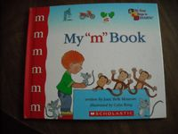 "My ""m"" Book by Jane Belk Moncure - Scholastic (2001) for sale at Wenzel Thrifty Nickel ecrater store"