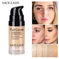 �Ÿ˜�SACE LADY Face Concealer Cream Full Cover Makeup Liquid Facial Corrector Waterproof Base Make Up for Eye Dark Circles Cosmetic�Ÿ˜� $8.82