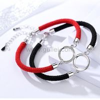 Engraved Sterling Silver Couple Bracelets Gift https://www.gullei.com/engraved-sterling-silver-couple-bracelets-gift.html