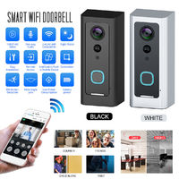 Smart WiFi Doorbell Camera Video Wireless Remote Door Bell CCTV Chime Phone Remote Video Monitoring Alarm