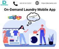 On-demand Laundry Mobile App - Deorwine Infotech
