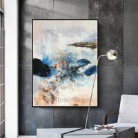 Original acrylic Painting Wall Art on canvas Abstract art painting huge size minimalist Pictures for living room cuadros cuadros abstractos $89.00