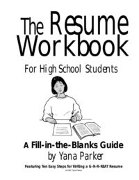 Print this out and use it as a guide for writing your resume. This is a great tool for high school students and graduates translate their skills and experience�€�