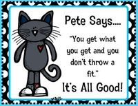 Pete the Cat signs